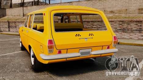ГАЗ-24-02 Волга Такси для GTA 4 вид сзади слева