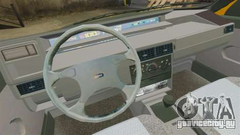 Fiat Tempra TR KeremAkca Edit для GTA 4 вид сзади