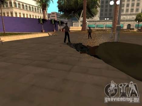 WeaponStyles для GTA San Andreas пятый скриншот