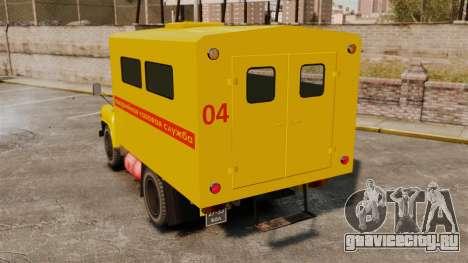ГАЗ-52 Аварийная для GTA 4 вид сзади слева