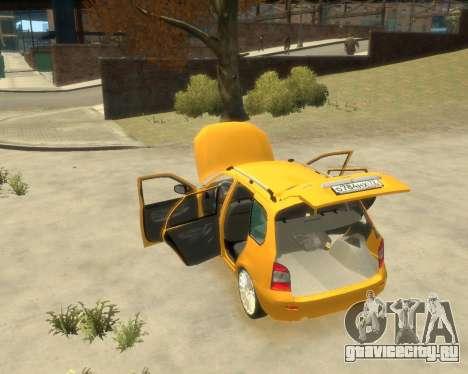 Лада Калина Универсал для GTA 4 вид справа