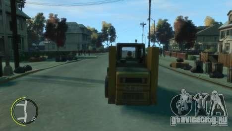 Погрузчик из BF3 для GTA 4 вид справа