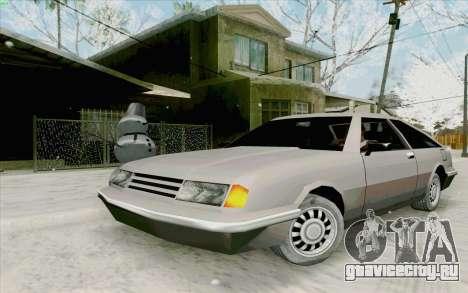 Manana Hatchback для GTA San Andreas