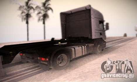 Scania R500 Topline для GTA San Andreas вид сзади слева