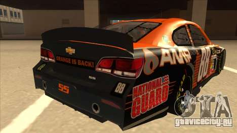 Chevrolet SS NASCAR No. 88 Amp Energy для GTA San Andreas вид справа