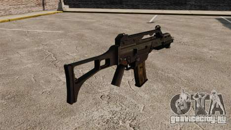 Автомат HK G36C v1 для GTA 4 второй скриншот