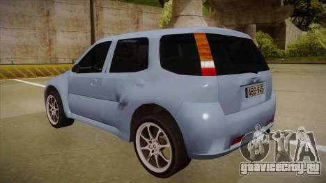 Suzuki Ignis для GTA San Andreas вид сзади