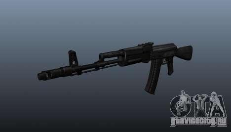 Автомат AK-74M для GTA 4