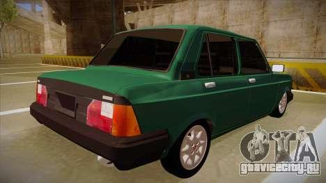 Fiat 128 Super Europa для GTA San Andreas вид справа