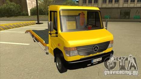 Mercedes-Benz Vario Towtruck для GTA San Andreas вид слева