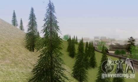 Новая растительность 2013 для GTA San Andreas пятый скриншот