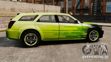 Dodge Magnum West Coast Customs для GTA 4 вид слева