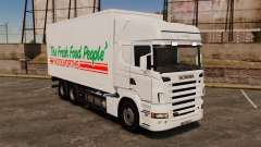 Scania R580 Tandem Woolworths