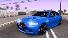 BMW M5 F10 2012 Autovista для GTA San Andreas