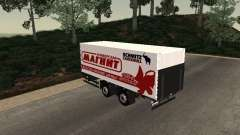 Прицеп MAN Магнит для GTA San Andreas