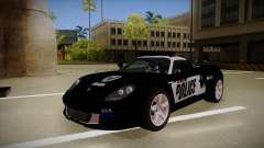 Porsche Carrera GT 2004 Police Black