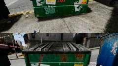 Мусорные контейнеры Waste Management, Inc.