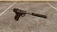 Пистолет Parabellum v2