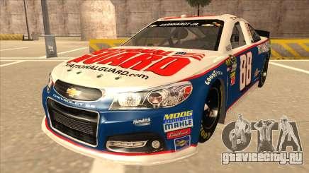Chevrolet SS NASCAR No. 88 National Guard для GTA San Andreas