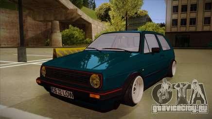 Volkswagen Golf MK2 Stance Nation by Razvan11 для GTA San Andreas