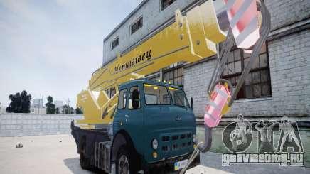 МАЗ КС3577-0-1 Черниговец для GTA 4