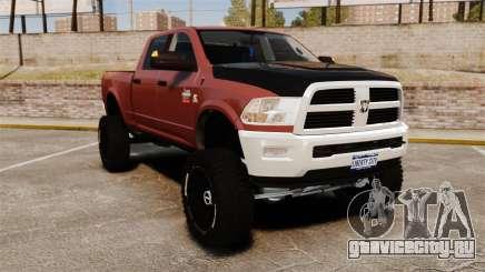 Dodge Ram 2500 Lifted Edition 2011 для GTA 4