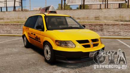 Dodge Grand Caravan 2005 Taxi LC для GTA 4