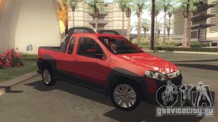 Fiat Strada Locker 2013 для GTA San Andreas
