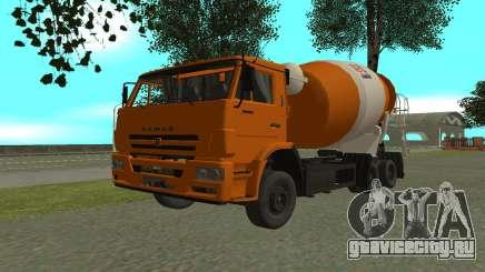 КамАЗ 6520 Цементовоз для GTA San Andreas