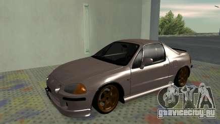 Honda CRX DelSol TMC для GTA San Andreas