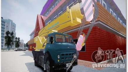 МАЗ КС3577-4-3 Галичанин для GTA 4