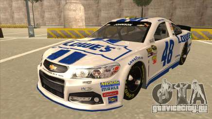 Chevrolet SS NASCAR No. 48 Lowes white для GTA San Andreas