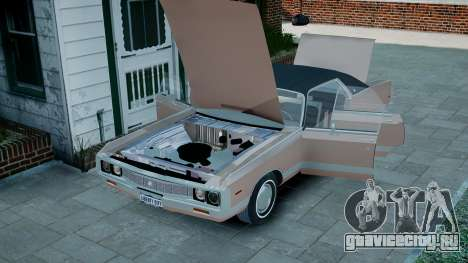 Chrysler New Yorker 1971 для GTA 4 вид изнутри
