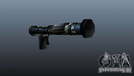 Ручной противотанковый гранатомёт для GTA 4 второй скриншот
