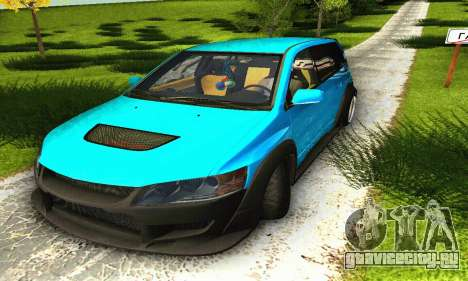 Mitsubishi Evo IX Wagon S-Tuning для GTA San Andreas