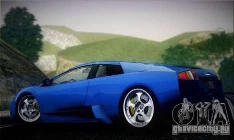 Lamborghini Murciélago 2005 для GTA San Andreas вид сзади