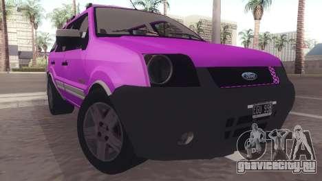 Ford EcoSport V2 для GTA San Andreas