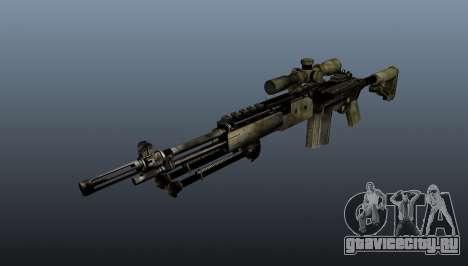 Снайперская винтовка M21 Mk14 v7 для GTA 4
