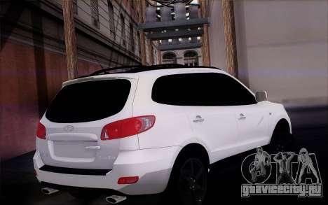 Hyundai Santa Fe для GTA San Andreas вид слева