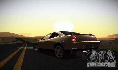 Fiat Coupe для GTA San Andreas вид снизу