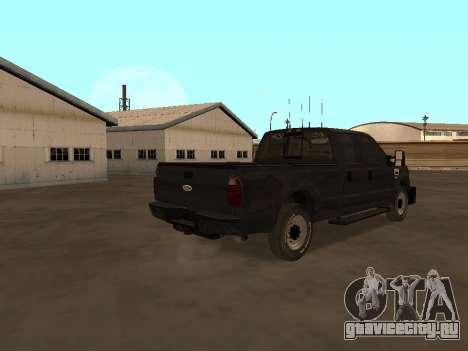 Ford F-350 ATTF для GTA San Andreas