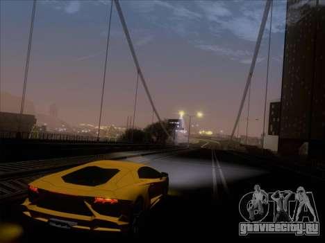 Lamborghini Aventador LP720-4 2013 для GTA San Andreas двигатель