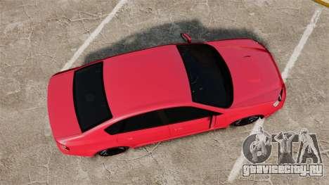 Subaru Legacy B4 2.0 GT Series IV [BL] 2005 для GTA 4 вид справа