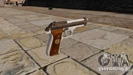 Пистолет Альберта Вескера для GTA 4 второй скриншот