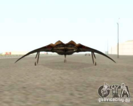 EDI для GTA San Andreas вид изнутри