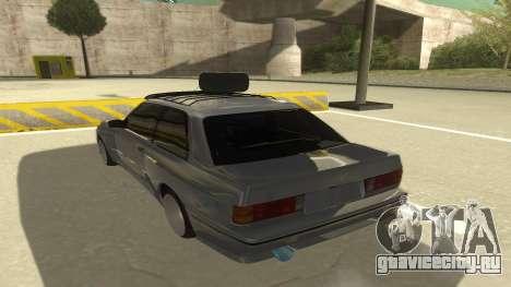 BMW E30 1991 для GTA San Andreas вид сзади