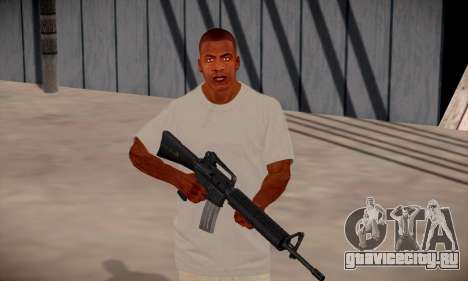 Franklin HD для GTA San Andreas седьмой скриншот