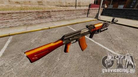 Автомат AK-47 v1 для GTA 4 второй скриншот