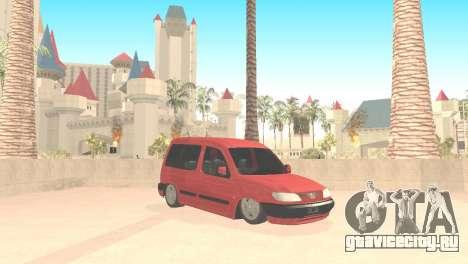 Peugeot Partner для GTA San Andreas