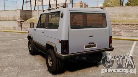 УАЗ-3170 прототип для GTA 4 вид сзади слева